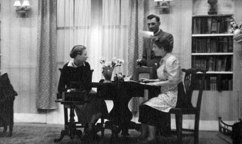 Golden Rain, 17th to 24th September 1955. Annice Crossley, Norman Leach and Nora Dodd.