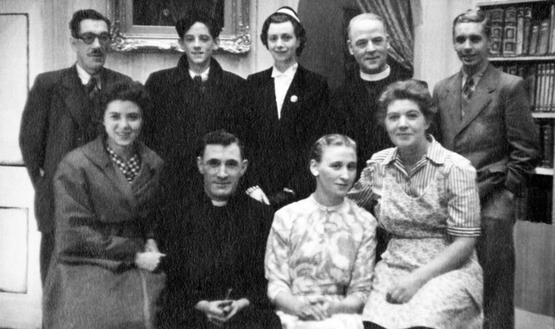 Hebden Bridge Little Theatre 17th to 24th September 1955. Alfred H. Stevenson, David Binns, Evelyn Hughes, Walter Wells, Michael Rumble, Doreen Hayhurst, Norman Leach, Annice Crossley and Nora Dodd.