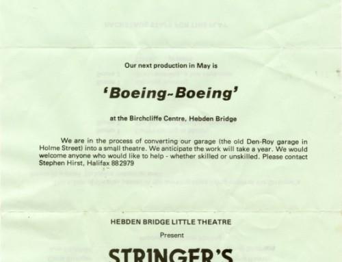 Stringer's Last Stand, 1982