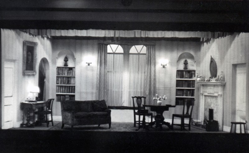 Set for Golden Rain, 17th to 24th September 1955