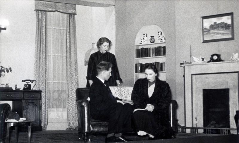 Black Chiffon, 1954