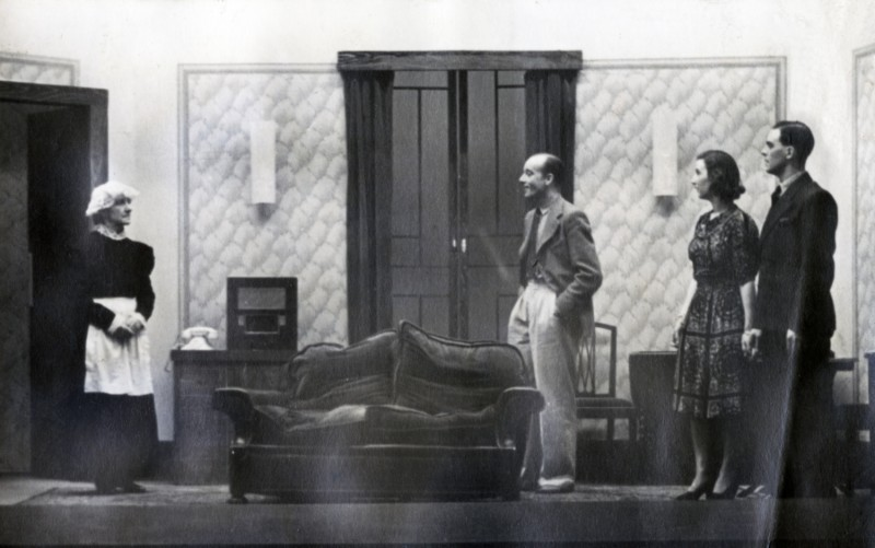 George and Margaret, 1940