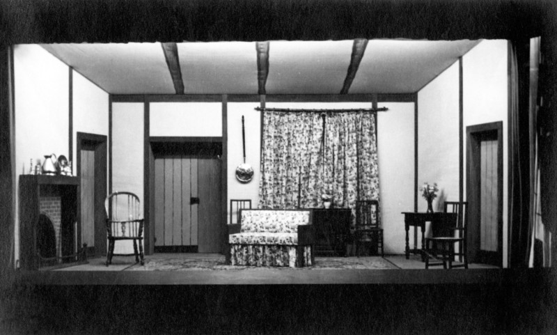 Set for Anthony and Anna, 1938