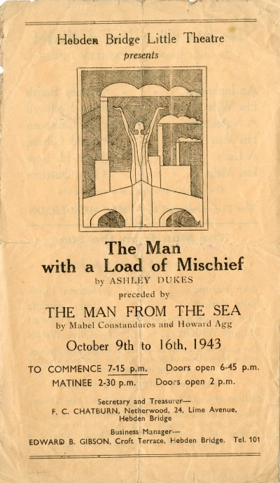 The Man with a Load of Mischief, 1943