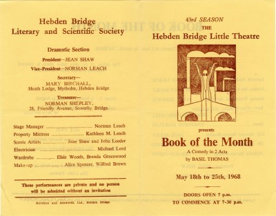 Book of the Month, 1968