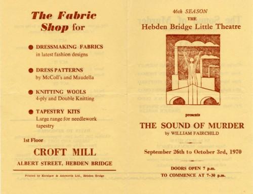 The Sound of Murder, 1970
