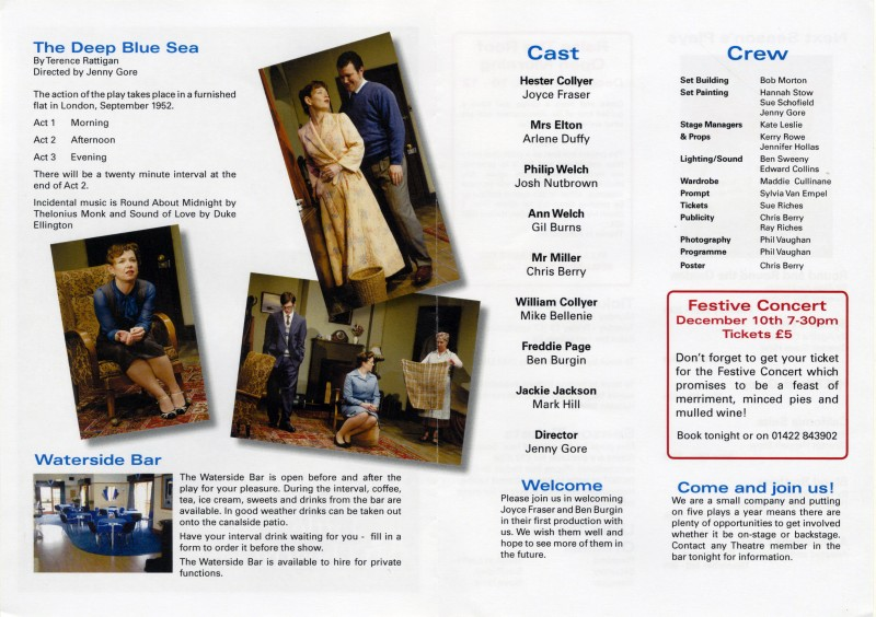 The Deep Blue Sea programme