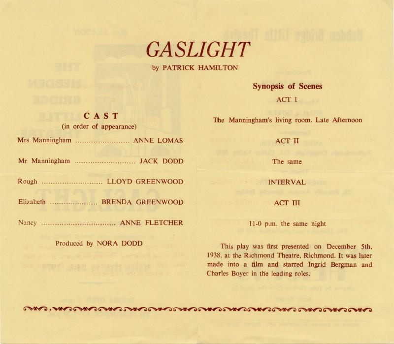 Gaslight programme