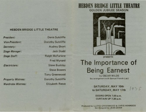 The Importance of Being Earnest, 1975