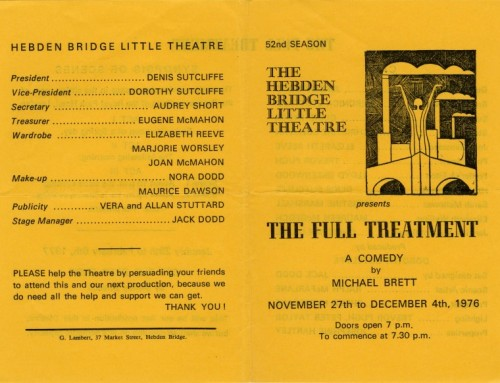 The Full Treatment, 1976