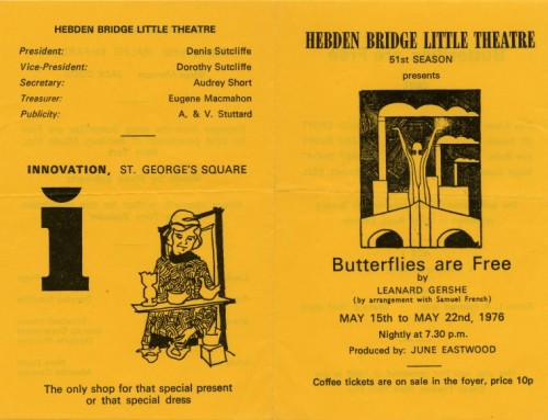 Butterflies are Free, 1976