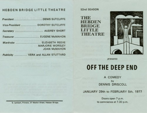 Off The Deep End, 1977