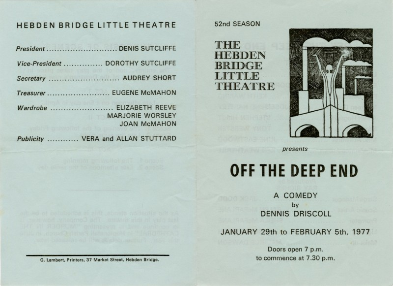 Off The Deep End programme