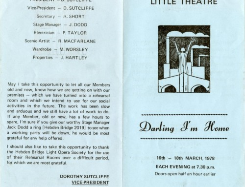 Darling, I'm Home, 1978