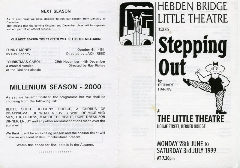 Stepping Out programme, 1999