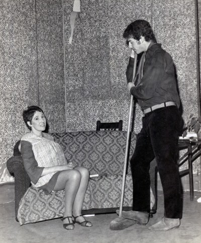 A Taste of Honey, by Shelagh Delaney, 1968. Josie Hartley and Tony Webster.