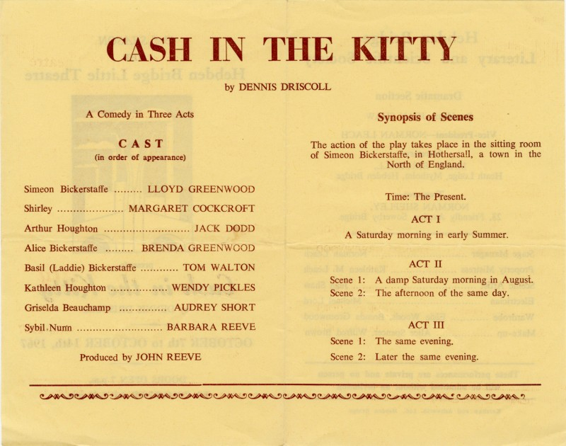 Cash in the Kitty, 1967