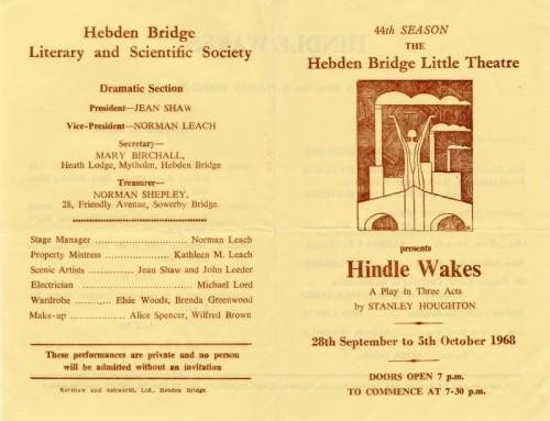 Hindle Wakes, 1968