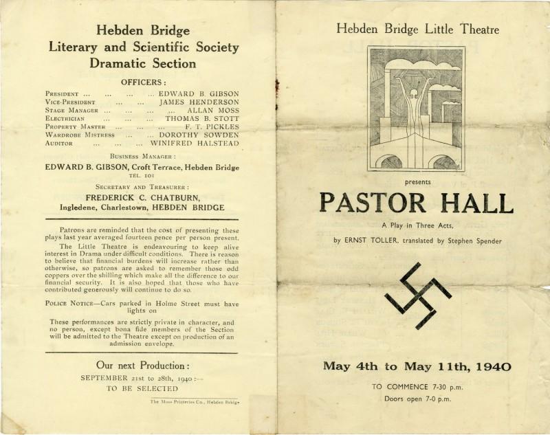 Pastor Hall, 1940