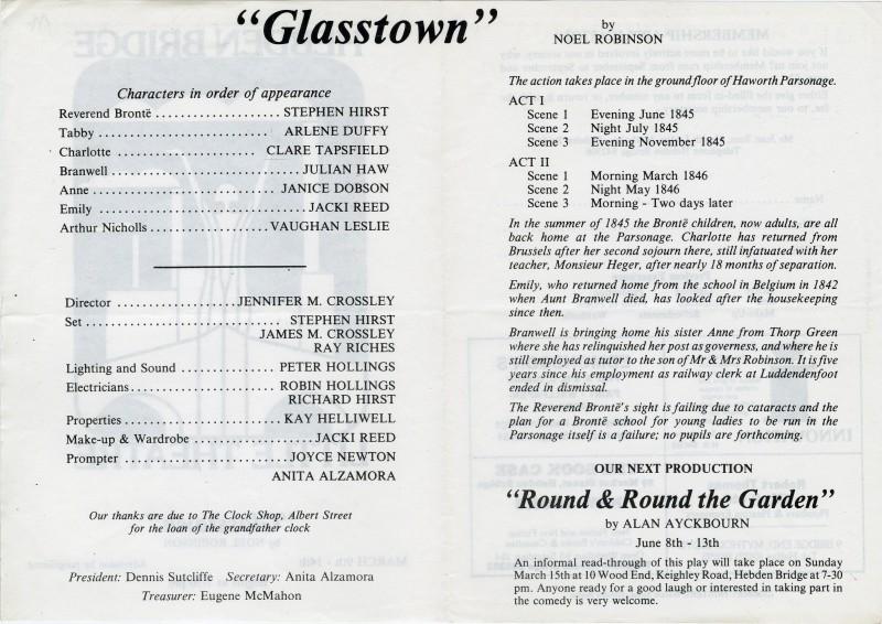 Glasstown, 1987