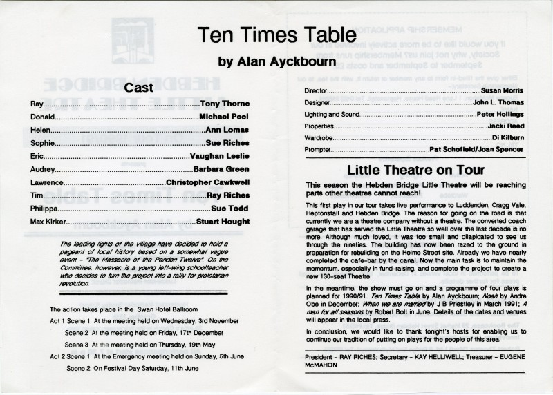 Ten Times Table, 1990