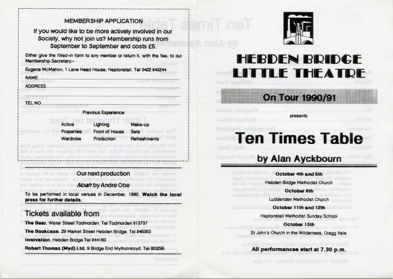 Ten Times Table, 1990