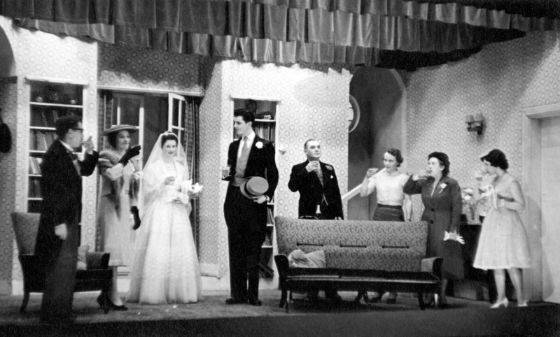 The Bride and the Bachelor, by Ronald Millar Directed by Frederick C. Chatburn, 30 January-6 February, 1960