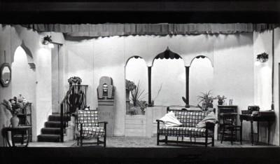 Set for Down Came a Blackbird, 1955