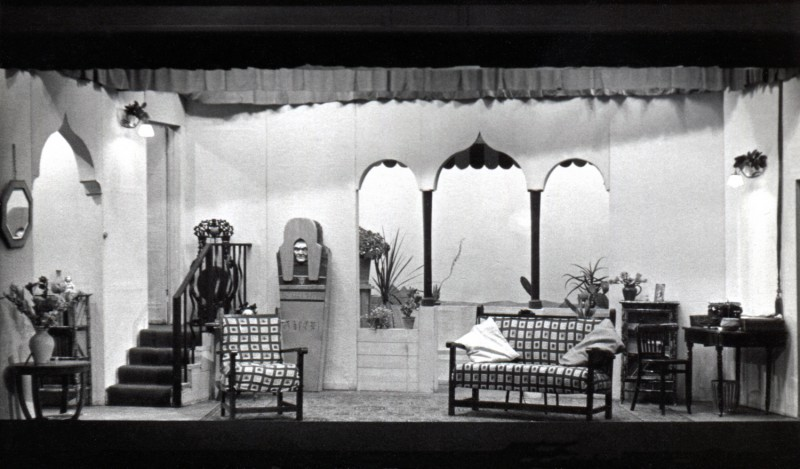 Set for Down Came a Blackbird, 1955