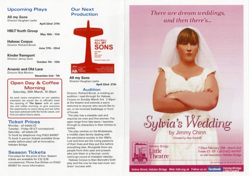 Sylvia's Wedding, 2013