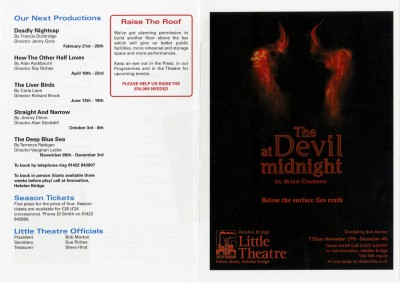 The Devil at Midnight, 2010