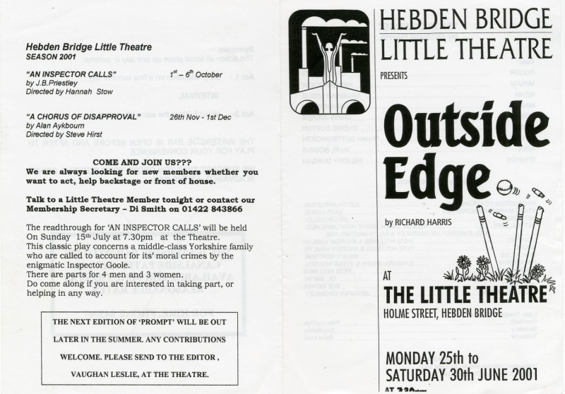 Outside Edge, 2001