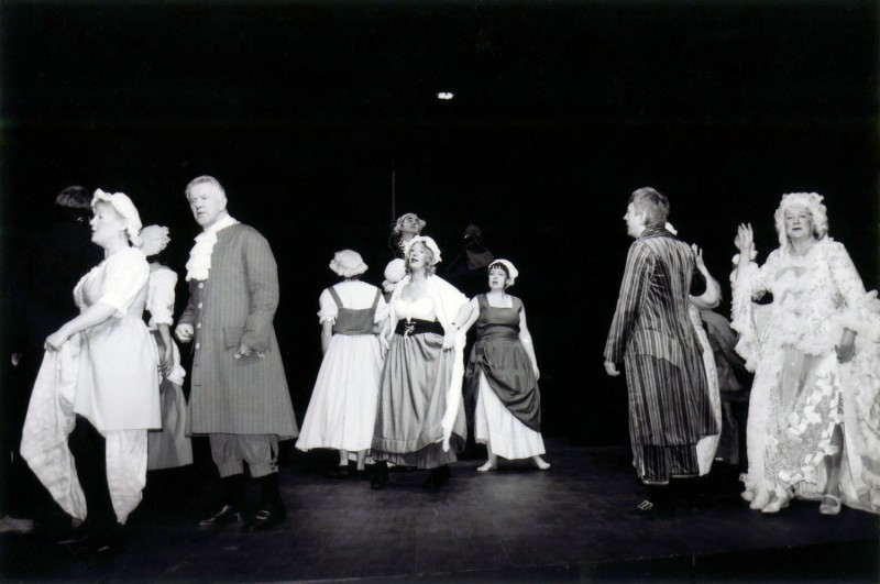 A Chorus of Disapproval, by Alan Ayckbourn Directed by Steve Hirst, 26 November-1 December 2001