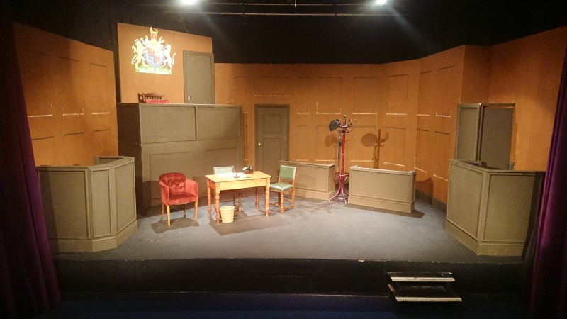 Set for Witness for the Prosecution