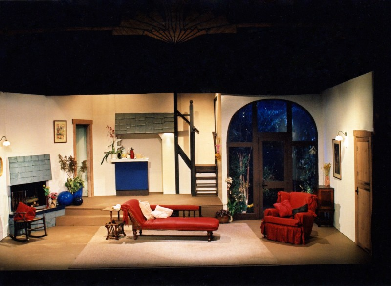 Set for Don't Dress for Dinner, 2000