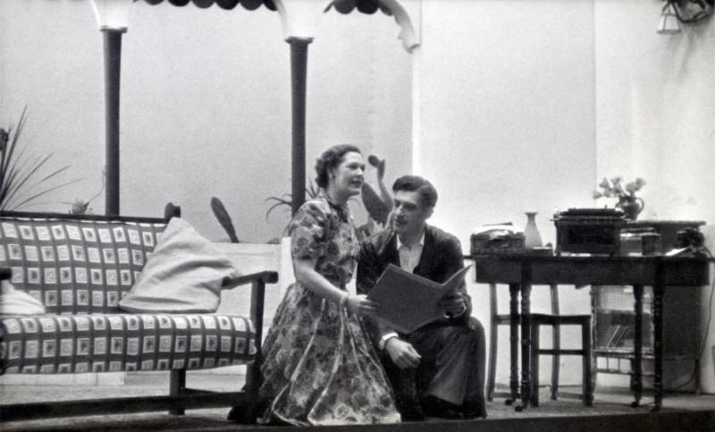 Down Came a Blackbird, 1955
