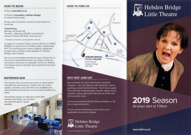 2019 programme