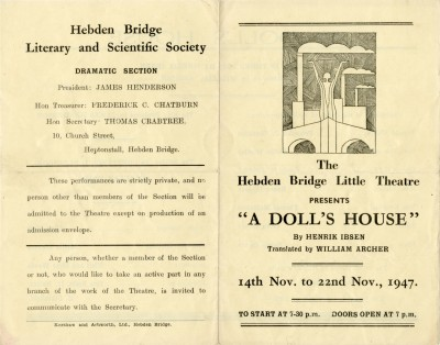 A Doll's House programme, 1947