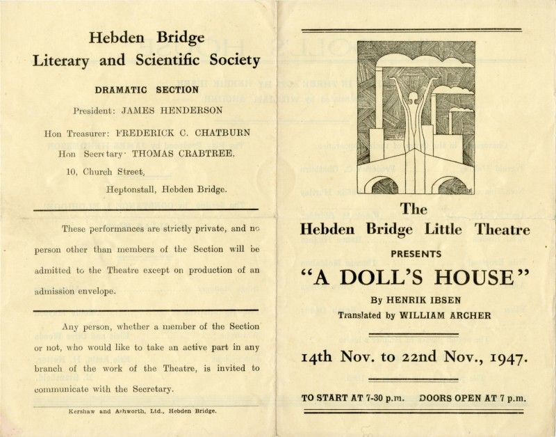 A Doll's House programme, 1947