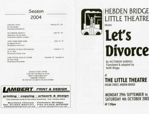 Let's Divorce, 2003