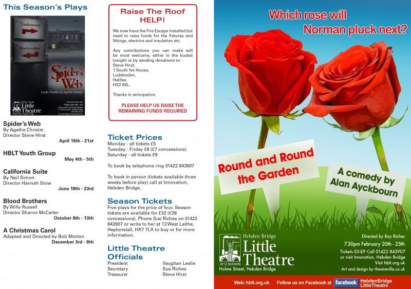 Round and Round the Garden programme, 2012