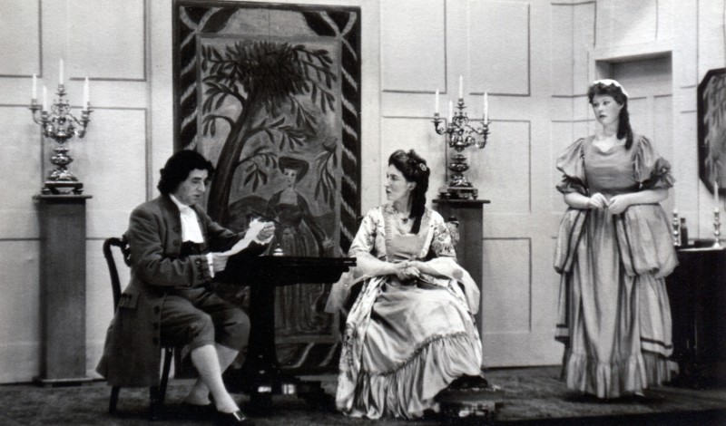 Viceroy Sarah, by Norman Ginsbury, produced by Olive Woods, 16-23 March, 1957