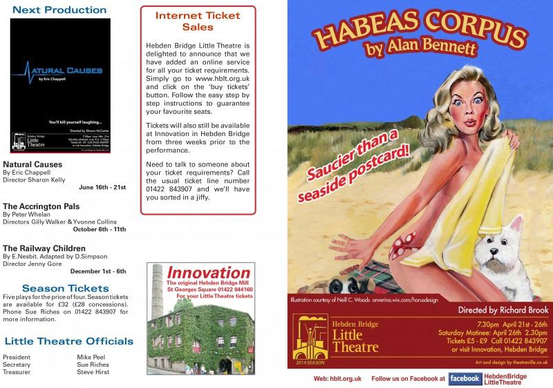 Habeas Corpus programme, 2014
