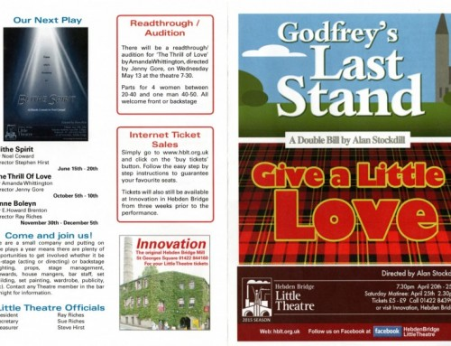Godfrey's Last Stand/Give a Little Love