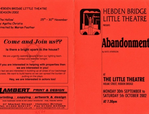 Abandonment programme, 2002