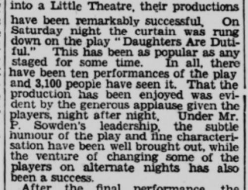 Daughters are Dutiful, 1934